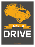 I Like to Drive Beetle 7 Poster by  NaxArt