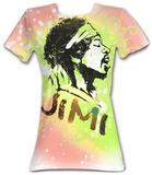 Juniors: Jimi Hendrix - Jimi Graffiti T-Shirt