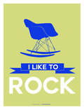 I Like to Rock 2 Print by  NaxArt
