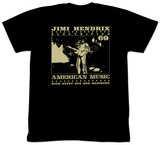Jimi Hendrix - Jimi On Stage T-Shirts