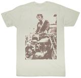 Evel Knievel - Sepia T-skjorter
