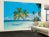 Tropical Maldives Huge Wall Mural Poster Print Wall Mural