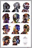 Doctor Who - Silhouette Plakater