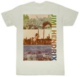 Jimi Hendrix - Triptych Shirts