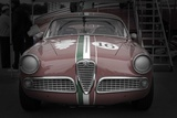 Racing Alfa Romeo Print by  NaxArt