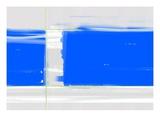 Abstract Blue Kunstdrucke von  NaxArt