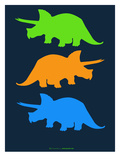 Dinosaur Family 6 Posters by  NaxArt