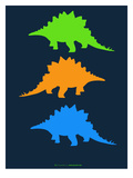 Dinosaur Family 8 Poster by  NaxArt