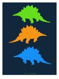 Dinosaur Family 8 Poster di  NaxArt