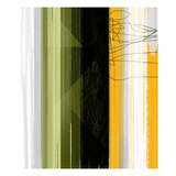 Abstract Green and Yellow Art by  NaxArt