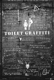 Toilet Graffiti Poster