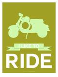 I Like to Ride 3 Poster van  NaxArt