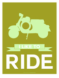 I Like to Ride 3 Posters by  NaxArt