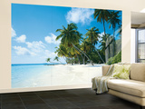 Tropical Palms Huge Wall Mural Poster Print Wall Mural