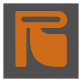Letter R Orange Prints by  NaxArt