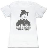 Juniors: Rocky - My Mom Hits Harder T-Shirts