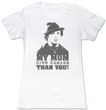 Juniors: Rocky - My Mom Hits Harder T-shirts