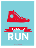 I Like to Run 1 Prints by  NaxArt