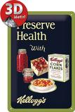 Kellogg's Preserve Health Tin Sign