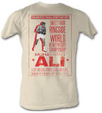 Muhammad Ali - Ali Poster Shirts