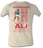 Muhammad Ali - Ali Poster T-shirts