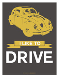 I Like to Drive Beetle 1 Posters by  NaxArt