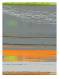 Abstract Orange Stripe1 Posters by  NaxArt