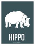 Hippo White Art by  NaxArt