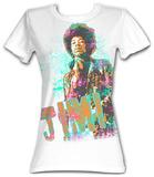 Juniors: Jimi Hendrix - Jimi Grunge Shirts