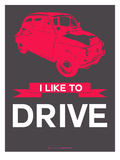 I Like to Drive Beetle 6 Prints by  NaxArt