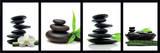 Zen Stones - green Poster