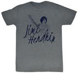 Jimi Hendrix - Jim Line T-shirts