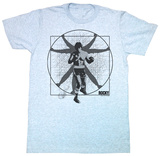 Rocky - Vitruvian Rocky T-Shirts