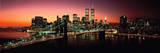 Nueva York: puente de Brooklyn Pósters