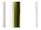 Abstract Green on White Prints by  NaxArt