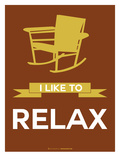 I Like to Relax 3 Prints by  NaxArt