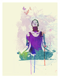 Meditating Mind Prints by  NaxArt