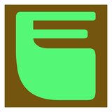 Letter E Green Posters by  NaxArt