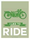 I Like to Ride 8 Posters van  NaxArt
