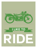 I Like to Ride 8 Prints by  NaxArt