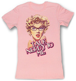 Juniors: Marilyn Monroe - Nerdy T-Shirts