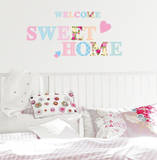 Welcome Home Wall Decal by Alice Wilson