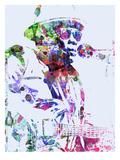 John Lee Hooker Poster von  NaxArt