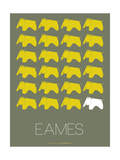 Eames Yellow Elephant Poster 2 Photo by  NaxArt