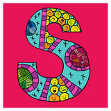 Letter S Prints by Emi Takahashi