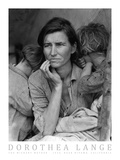 The Migrant Mother, c.1936 Art by Dorothea Lange