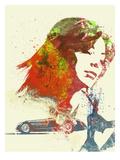 Ferrari Girl Kunstdrucke von  NaxArt