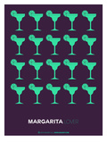 Green Margaritas Poster Posters by  NaxArt