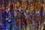 City Scene Abstract Posters av  Jefd
