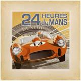 24heures du Mans Posters par Bruno Pozzo